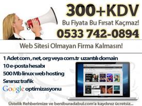 300 TL'ye Web Sitesi